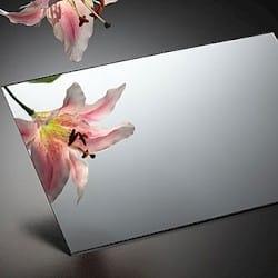 Orgsteklo Gümüşü Güzgülü (Arxası Yapışqanlı) 1.2mm (1,22x2.44)